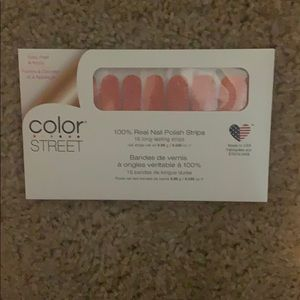 """""""Seattle Royale"""" Color street nails"""